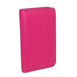 Buxton Women's Leather Deluxe Snap Card Case Wallet - One Size