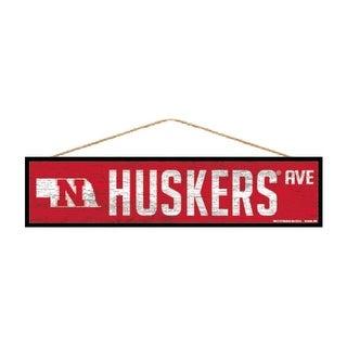 Link to Nebraska Cornhuskers Sign 4x17 Wood Avenue Design Similar Items in Fan Shop