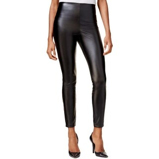 Guess Womens Leggings Faux Leather No Pockets