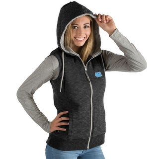 University of North Carolina Ladies Blitz Heather Jersey Hooded Vest