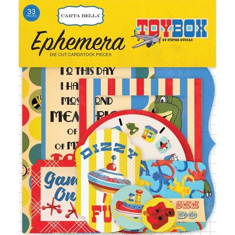 Toy Box Ephemera Cardstock Die-Cuts-Icons
