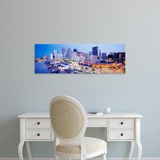 Easy Art Prints Panoramic Images's 'Denver, Colorado, USA' Premium Canvas Art