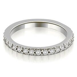 0.40 cttw. 14K White Gold Round Diamond Eternity Ring