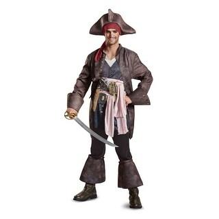 Captain Jack Sparrow Deluxe Men's Costume