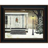 16 x 20 in. Peace On Earth Christmas Landscape Art Print with