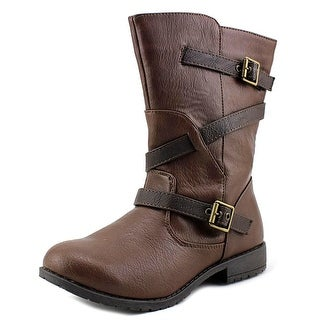 Kenneth Cole Reaction Shake N Flake 2 Round Toe Synthetic Mid Calf Boot
