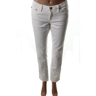 Adriano Goldschmied Womens The Stilt Stretch Low-Rise Cigarette Jeans - 30