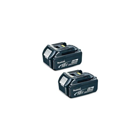 Replacement For Makita BL1850 Power Tool Battery (5000mAh, 18V, Li-Ion) - 2 Pack