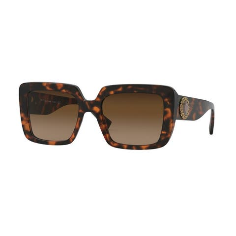 Versase VE4384BF 944/74 54 Havana Woman Square Sunglasses - Tortoise