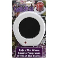 Darice 1199-15 No Flame Candle Plate
