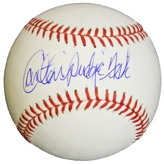 Link to Carlton Fisk Rawlings Official MLB Baseball wPudge - Black - 5' x 8' Similar Items in Sports Memorabilia