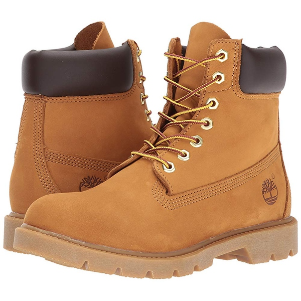 Sale Leather High top Boots Wheat Nubuck Timberland Men
