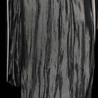 "Gray Pleated Taffeta Craft Ribbon 2.375"" x 11 Yards"