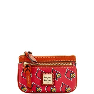Dooney & Bourke NCAA Louisville Small Coin Case (Introduced by Dooney & Bourke at $58 in Jul 2015) - Red
