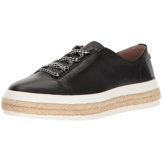 Calvin Klein Womens Jupa Leather Low Top Lace Up Fashion Sneakers (5 options available)