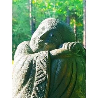 Handmade Resting Jizo Statue
