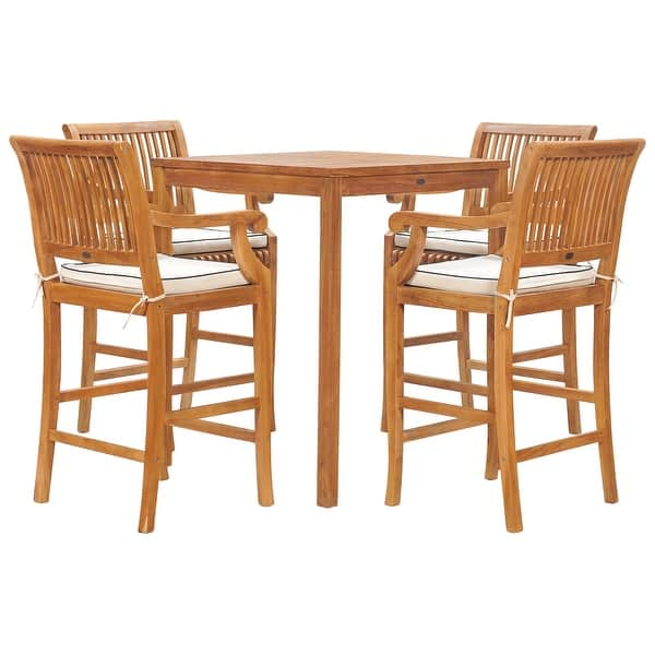 Castle Teak Wood Bar Stool Chair