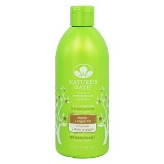 Hemp & Argan Oil Nourishing Conditioner Nature's Gate 18 oz Liquid