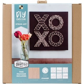 "String Art Kit 12""X12""-Home Quotes"