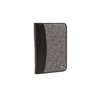 JAVOedge Tweed Book Case for Amazon Kindle Keyboard (Kindle 3) - Brown