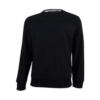 Nautica Men's Long-Sleeve Sweatshirt (True Black, L) - True Black - L