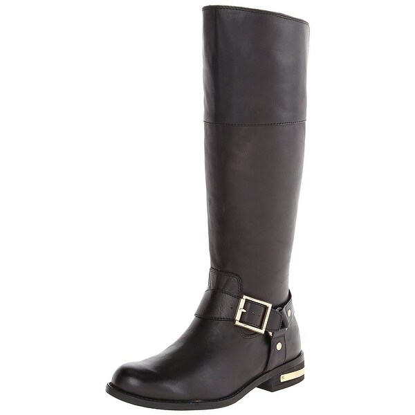 Vince Camuto Womens Kallie Leather Almond Toe Knee High Fashion Boots