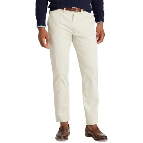 Polo Ralph Lauren Mens Straight Fit Chino Pants 38 x 34 Beige