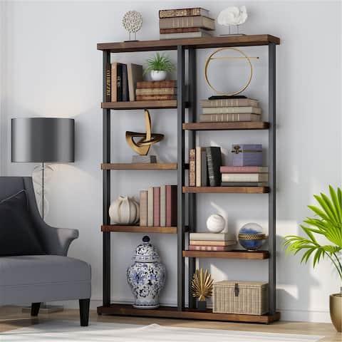 Industry Bookshelf, Vintage Bookcase, Display Shelf Storage Organizer