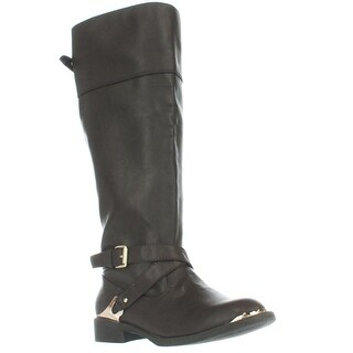 Report Footwear Neves Knee High Riding Boots, Brown