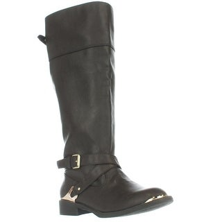 Report Footwear Neves Knee High Riding Boots - Brown