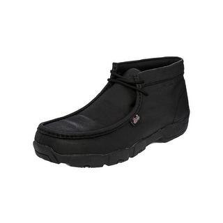 "Justin Work Shoes Mens Western Steel Toe Buffalo Leather 4"" Shaft 231"