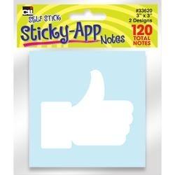 """Apps; Pastels - Sticky Notes 3""""X3"""" 2/Pkg"""