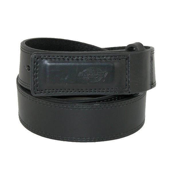 Dickies Men's Leather Covered Buckle Mechanics and Movers Belt