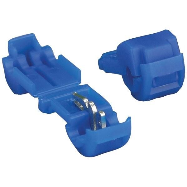 Install Bay 3Mbtt 3M(Tm) T-Taps, 100 Pk (Blue, 16-14 Gauge)