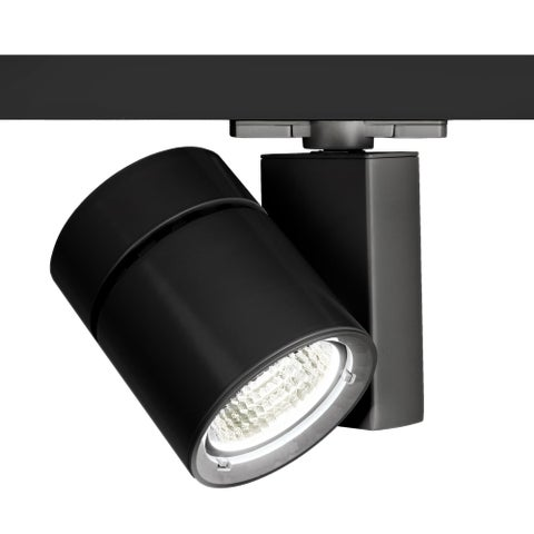 """WAC Lighting WTK-1052N-835 Exterminator II 6"""" Wide 3500K High Output LED Track Head for W -Track Systems - 25 Degree Beam Spread"""