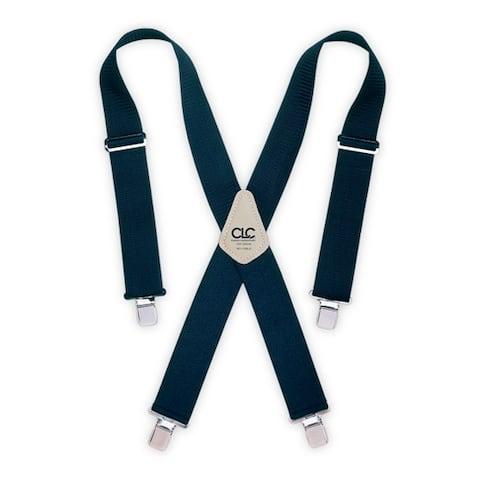 CLC 110BLU Heavy Duty Work Suspenders, Blue