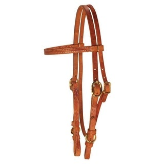Berlin Custom Leather Headstall Hermann Oak Browband Buckle Cheek