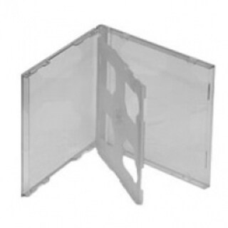 Jc2/Cl-2 Assembled Double Jewel Box Clear Tray