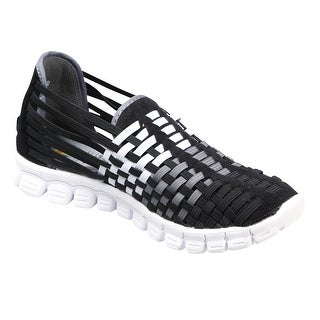 Women's Athletic Shoes - Slip On Web Of Color Sneakers