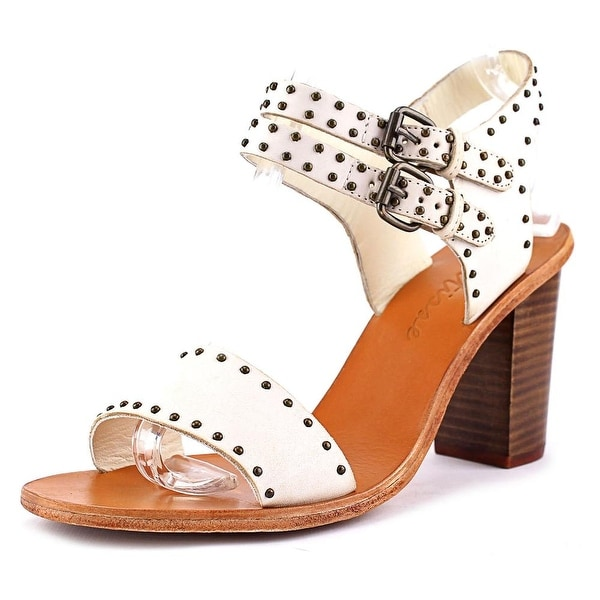 Matisse Sally Women  Open Toe Leather Ivory Sandals