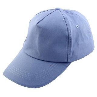 Outdoor Travel Cotton Blends Adjustable Golf Baseball Cap Sport Hat Light Purple