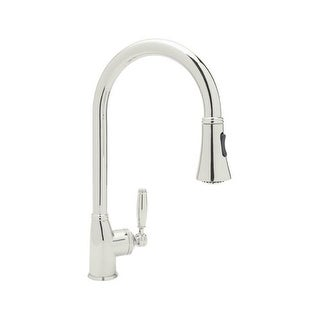 Rohl MB7928LM 2 Michael Berman Deck Mounted Kitchen Faucet With Pullout  Spray