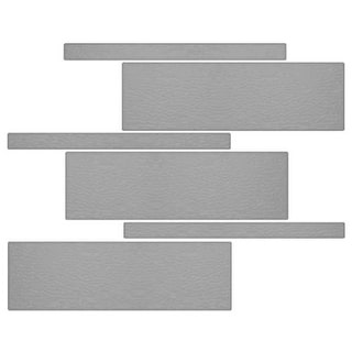 Miseno MT-G5PURE Nature Mosaic Wall Tile (8.9 SF / Carton) - Grey