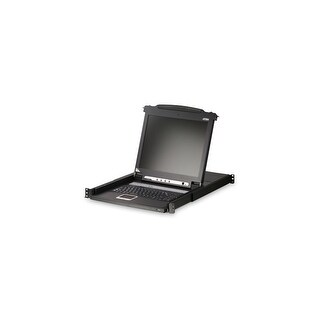 Aten N39050B ATEN 17- Inch LCD Console support USB and PS2 CL1000M (Black)