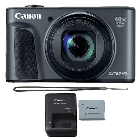 Canon PowerShot SX730 HS 20.3-Megapixel Digital Camera Black