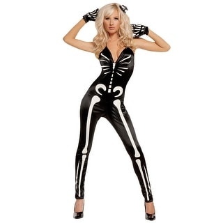 Sexy Glow Skeleton Costume
