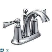 Moen 4505 Wynford Centerset High-Arc Bathroom Faucet (Valve Included)