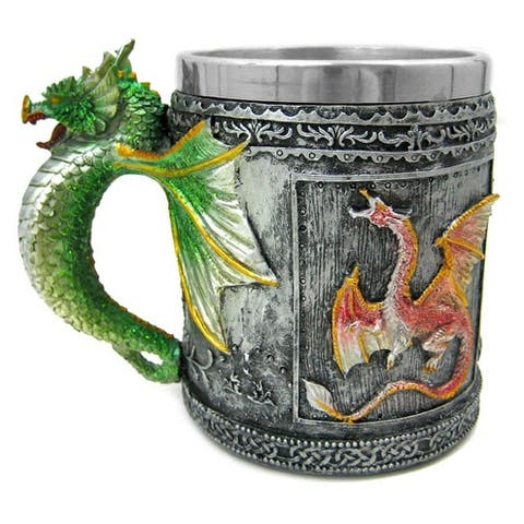 Gothic Dragon Tankard Coffee Mug Cup Medieval - 4.5 X 5.5 X 3.5 inches