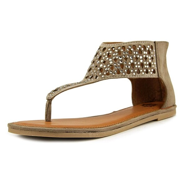 Yellow Box Acquarius Women Taupe Sandals