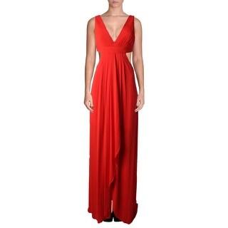 BCBG Max Azria Womens Semi-Formal Dress Matte Jersey Pintuck - 10